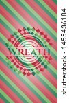 wreath christmas colors style... | Shutterstock .eps vector #1455436184