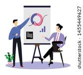 man working vector template... | Shutterstock .eps vector #1455449627