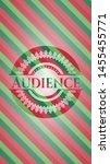audience christmas badge... | Shutterstock .eps vector #1455455771
