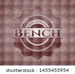 bench red geometric badge.... | Shutterstock .eps vector #1455455954