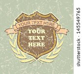 vintage labels . place your... | Shutterstock .eps vector #145549765