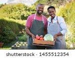 Portrait Of Happy Black Farmer...