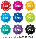 design colorful sale label... | Shutterstock .eps vector #1455529301