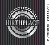 birthplace silver badge or... | Shutterstock .eps vector #1455551447