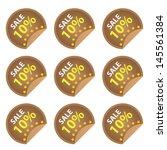 promotional sale labels set ...   Shutterstock . vector #145561384