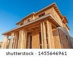 New Wood House Framing At...