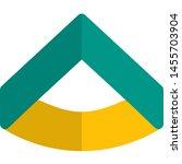 lieutenant badge single stripe... | Shutterstock .eps vector #1455703904