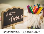 Kids Entertainment Table At A...