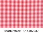 Red And White Gingham...