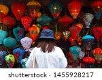 hoi an vietnam   5 may 2019  ... | Shutterstock . vector #1455928217