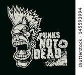 "retro design ""punk not dead""... 