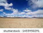 nature landscape of desert on... | Shutterstock . vector #1455950291