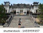 hue vietnam   7 may 2019   the... | Shutterstock . vector #1455959357