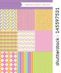 Cute Pattern Collection. Vecto...