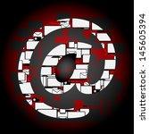 internet technology  | Shutterstock .eps vector #145605394