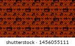 halloween red seamless... | Shutterstock .eps vector #1456055111