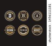 vintage illustration badge...   Shutterstock .eps vector #1456111181