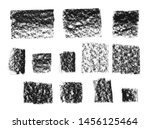 charcoal strokes abstract... | Shutterstock . vector #1456125464