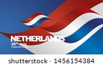 netherlands independence day... | Shutterstock .eps vector #1456154384