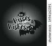ghost  halloween  autumn  fall ... | Shutterstock .eps vector #1456162391