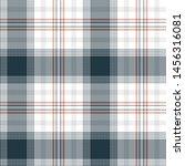 plaid pattern seamless vector... | Shutterstock .eps vector #1456316081