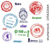 Set Of Real Stamps From Berlin...
