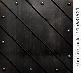 black metal template | Shutterstock . vector #145639921