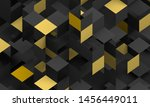 abstract 3d render  modern... | Shutterstock . vector #1456449011