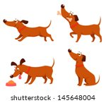cute cartoon illustrations of a ...   Shutterstock .eps vector #145648004