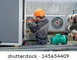 air conditioning repair ... | Shutterstock . vector #145654409