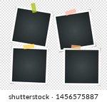 set of empty vintage photo... | Shutterstock .eps vector #1456575887