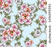 abstract elegance seamless... | Shutterstock .eps vector #1456595591