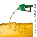 nozzle pumping gasoline in a...   Shutterstock . vector #145661261