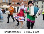 warsaw   august 25  folklore... | Shutterstock . vector #145671125