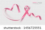 breast cancer awareness month.... | Shutterstock .eps vector #1456725551