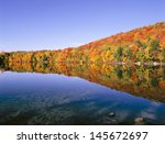New England Colorful Trees Pon...