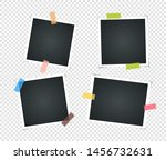 set of empty vintage photo... | Shutterstock .eps vector #1456732631
