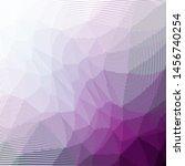 grunge purple white halftone... | Shutterstock .eps vector #1456740254