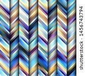 seamless background. geometric... | Shutterstock .eps vector #1456743794