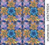 vector seamless background... | Shutterstock .eps vector #1456745024