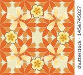 abstract elegance vector... | Shutterstock .eps vector #1456745027