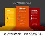 product features schema... | Shutterstock .eps vector #1456754381