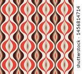 mid century modern art vector...   Shutterstock .eps vector #1456814714