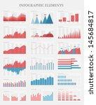 vector flat design infographic...   Shutterstock .eps vector #145684817