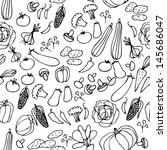 background with vegetables | Shutterstock .eps vector #145686047