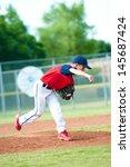 Little League Baseball Boy...