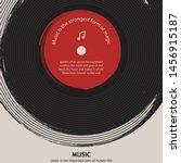 musical poster for your design. ...   Shutterstock .eps vector #1456915187