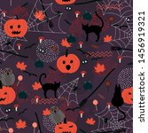 Halloween Seamless Holiday...