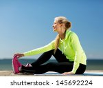 sport and lifestyle concept  ... | Shutterstock . vector #145692224