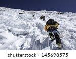island peak imja tse   nepal | Shutterstock . vector #145698575